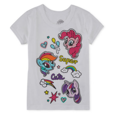 jcpenney.com | My Little Pony Girls My Little Pony Graphic T-Shirt-Preschool