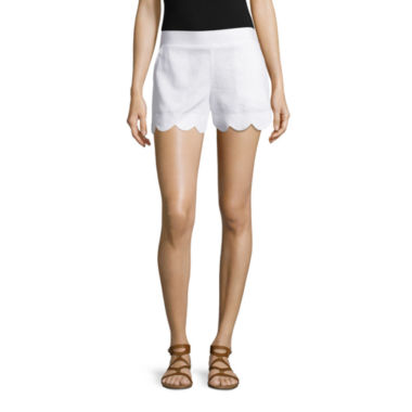 jcpenney.com | by&by Linen Soft Shorts-Juniors