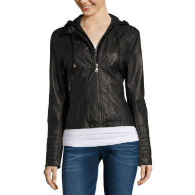 jcpenney.com | Maralyn And Me Motorcycle Jacket-Juniors