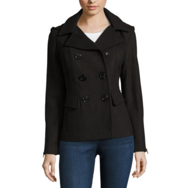 jcpenney.com | Maralyn And Me Peacoat-Juniors