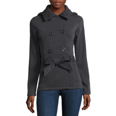 jcpenney.com | Ymi Belted Fleece Jacket-Juniors