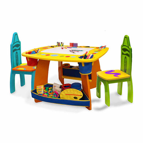 Grow'N Up Crayola Wooden Table & Chair Set