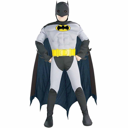 BATMAN WITH MUSCLE CHEST CHILD DRESS UP COSTUME