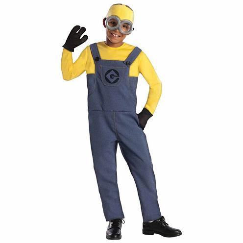 Despicable Me Minion Made Minion Dave 4-pc. Despicable Me Dress Up Costume