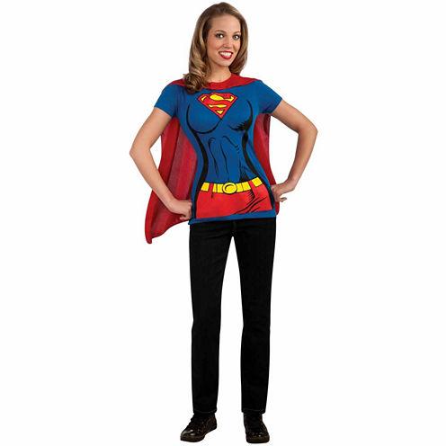 Supergirl T-Shirt 3-pc. DC Comics Dress Up Costume