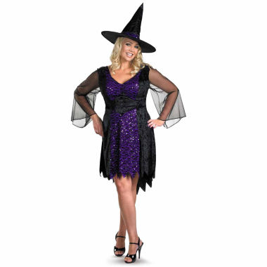 jcpenney.com | Brilliantly Bewitched Plus 2-pc. Dress Up Costume