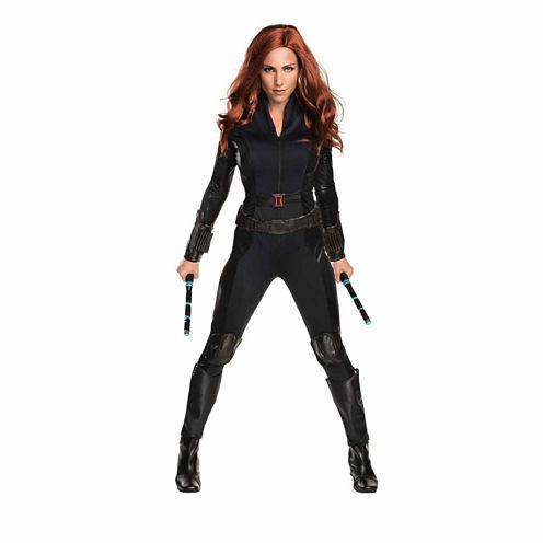 Captain America Civil War Black Widow Secret Wishes 4-pc. Marvel Dress Up Costume