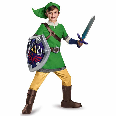 The Legend of Zelda: Boys Deluxe Link Costume - S(4-6)