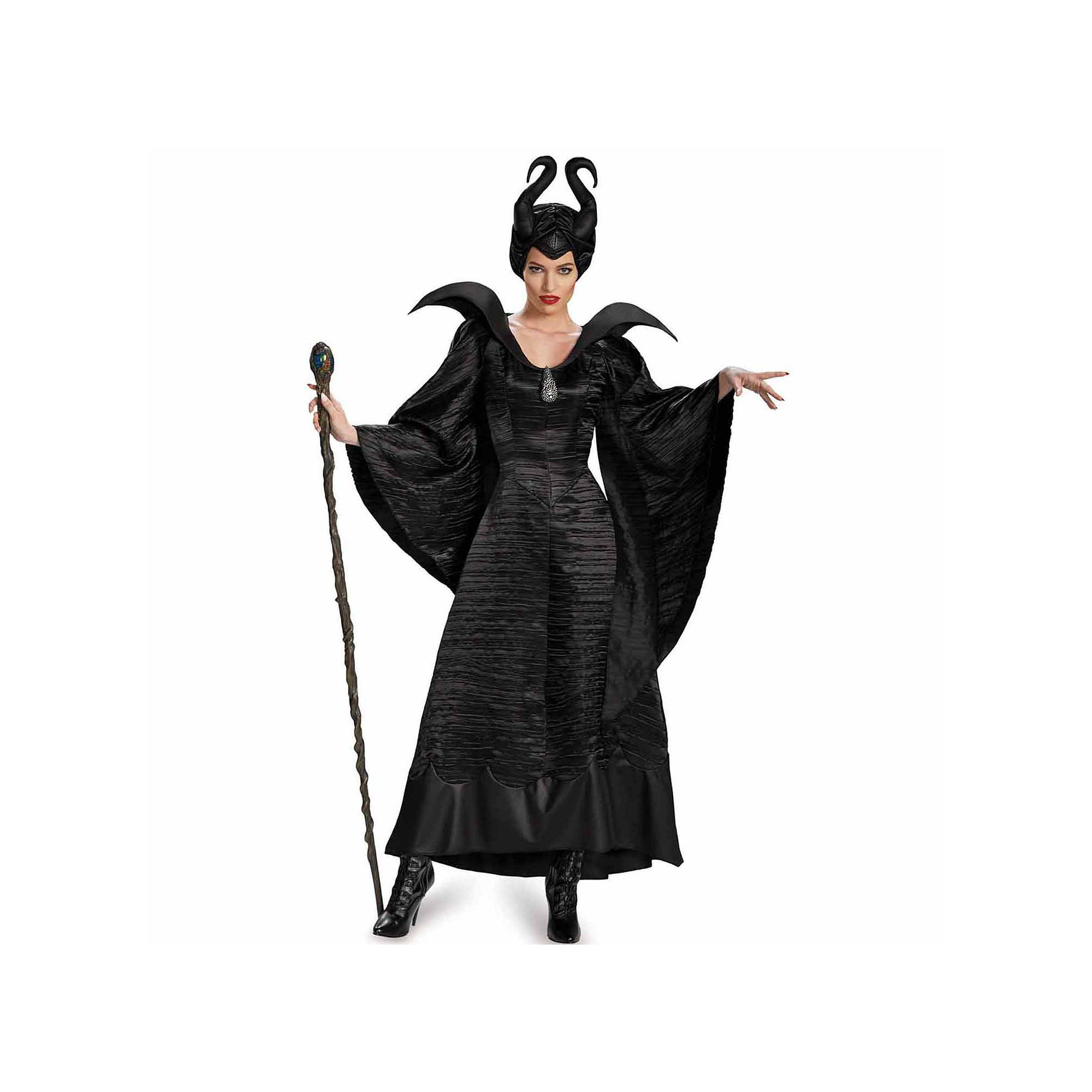 Maleficent Christening Black Gown 3-pc. Dress Up Costume plus size,  plus size fashion plus size appare