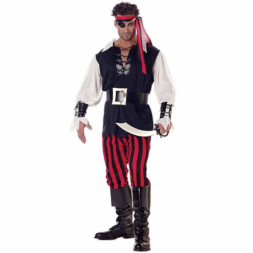 Cutthroat Pirate 6-pc. Dress Up Costume