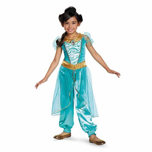 Disney Jasminesparkle Toddler 2-pc. Disney Princess Dress Up Costume
