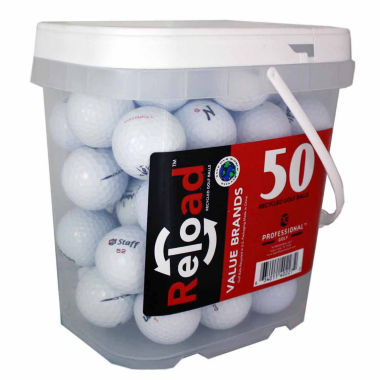 jcpenney.com | 50 Ball Bucket of Recycled Golf Balls Assorted Brands and Models.