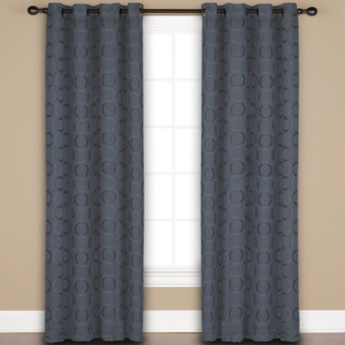 jcpenney.com | United Curtain Co. Mystique 2-Pack Rod-Pocket Curtain Panels