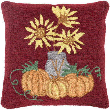 jcpenney.com | Surya Harvest Garden Throw Pillow Cover