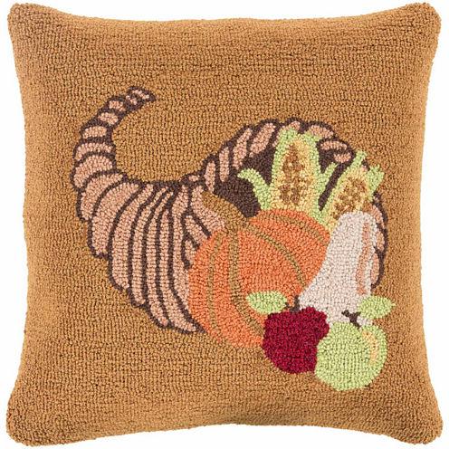 Decor 140 Bountiful Cornucopia Throw Pillow Cover