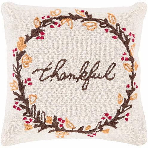 Decor 140 Thankful Harvest Rectangular Throw Pillow
