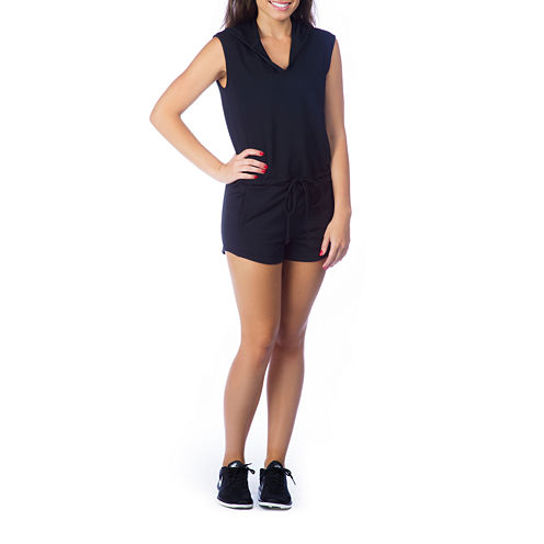PL Movement By Pink Lotus Sleeveless Romper