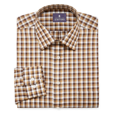jcpenney.com | STAFFORD TRAVEL EASY-CARE LONG-SLEEVE BROADCLOTH DRESS SHIRT