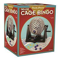 Pressman Toys Deluxe Cage Bingo Deals