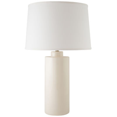 River Ceramic Cylinder Table Lamp