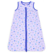 sootheTIME™ snooze sack™ - Blue Dots Crinkle Cotton