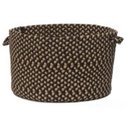 Brook Farm Braided Indoor or Outdoor Storage Basket