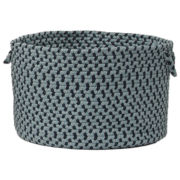 Brook Farm Braided Indoor /Outdoor Storage Basket