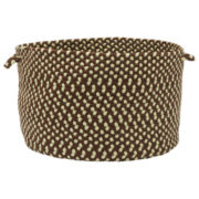 Montego Braided Indoor/Outdoor Storage Basket
