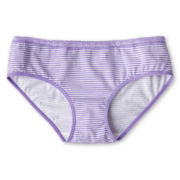 Maidenform Lace-Trimmed, Striped Hipster Panties - Girls 4-16
