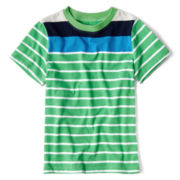 Okie Dokie® Striped Tee - Boys 12m-6y