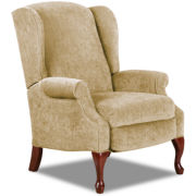 Virginia III High-Leg Reclining Wing Chair
