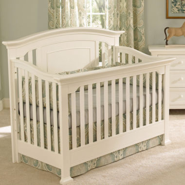jcpenney.com | Muniré Furniture Medford 4 IN 1 Convertible Crib - White