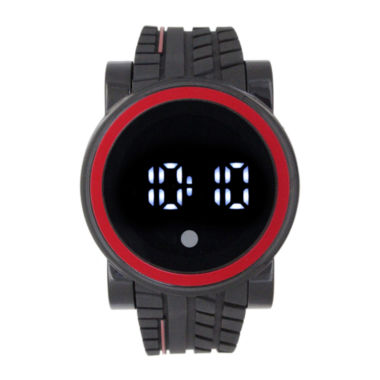 jcpenney.com | Mens Black Strap Watch-33554