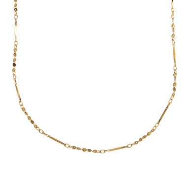 jcpenney.com | LIMITED QUANTITIES! 14K Yellow Gold 1.46mm Polished Twisted Link Chain Necklace