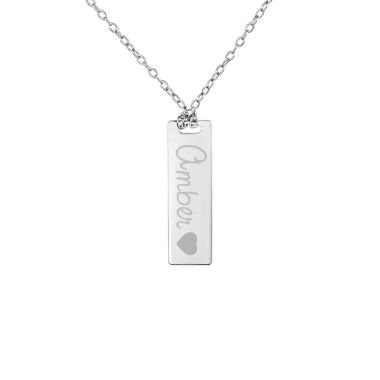 jcpenney.com | Personalized Sterling Silver Name Dog Tag