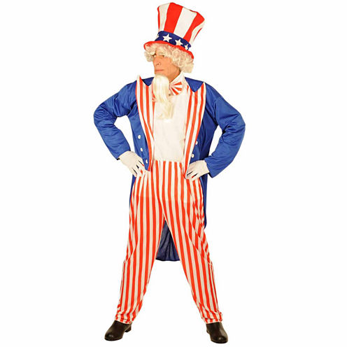 Uncle Sam 4-pc. Dress Up Costume