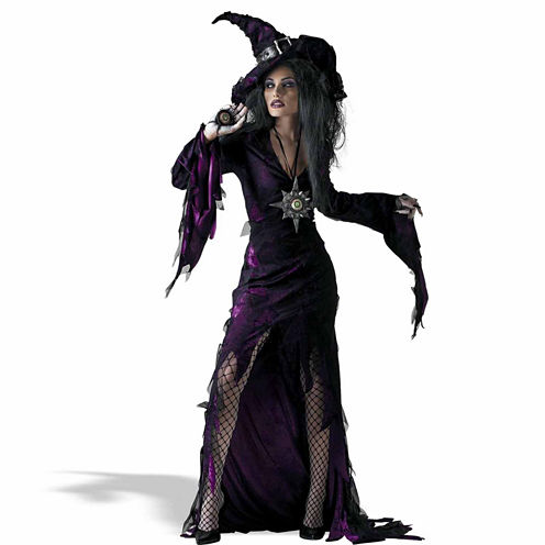 Buyseasons Sorceress 4-pc. Dress Up Costume