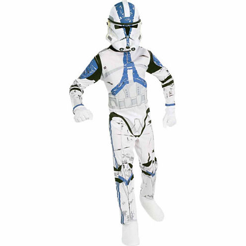Halo: Master Chief Muscle Costume For Kids - S (4-6)
