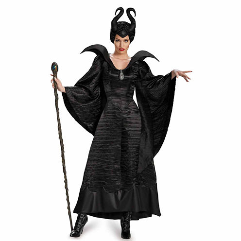 Maleficent Christening Black Gown 3-pc. Dress Up Costume