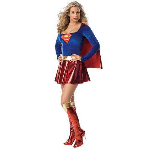 Supergirl 3-pc. DC Comics Dress Up Costume