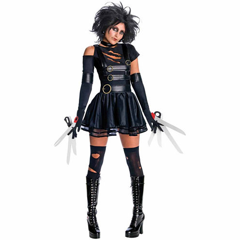 Miss Edward Scissorhands 5-pc. Dress Up Costume
