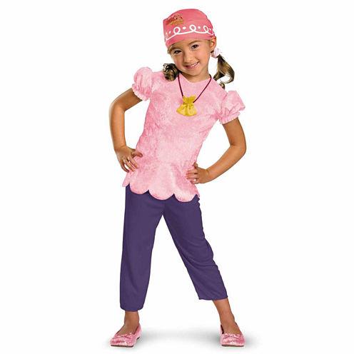 Disney Jake And Never Land Pirates Izzy 4-pc. Dress Up Costume