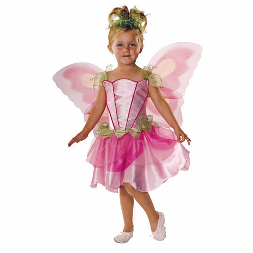 Pink Butterfly Fairy 3-pc. Dress Up Costume