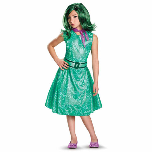Disney Inside Out Disgust 3-pc. Inside Out Dress Up Costume