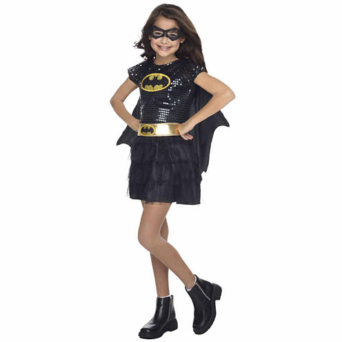 Kids Batgirl Sequin Costume - Small