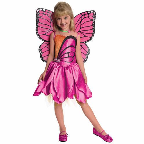 Barbie Mariposa 2-pc. Barbie Dress Up Costume