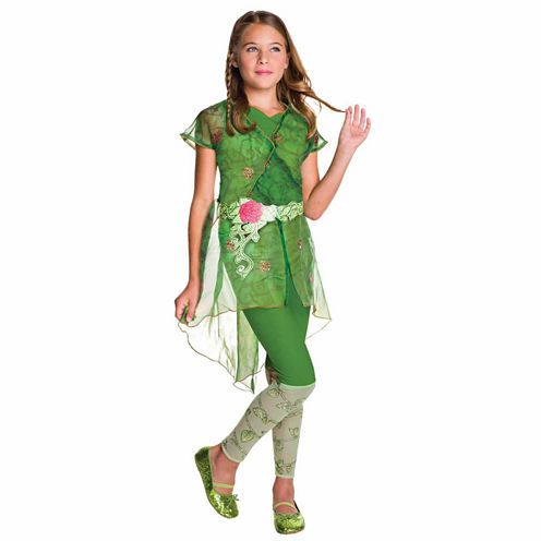 Poison Ivy Girls 2-pc. DC Comics Dress Up Costume
