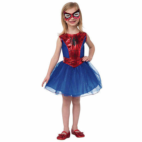 Spidergirl 2-pc. Marvel Dress Up Costume