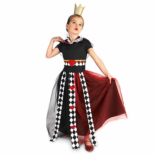 Queen Of Hearts 2-pc. Dress Up Costume