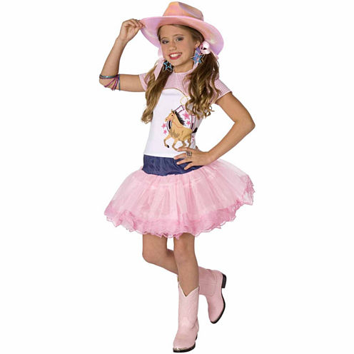 Planet Pop Star Cowgirl 3-pc. Dress Up Costume